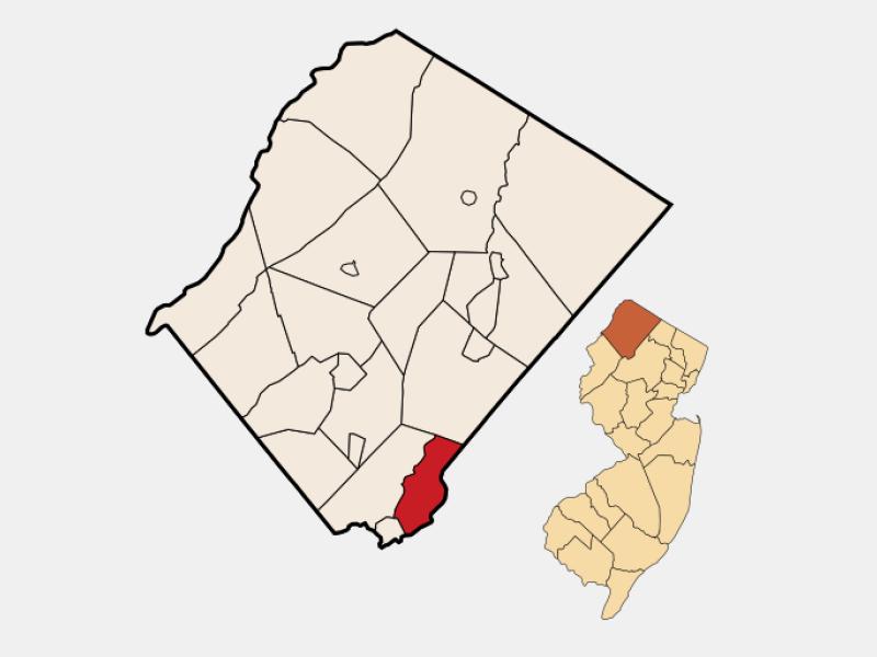 Hopatcong location map
