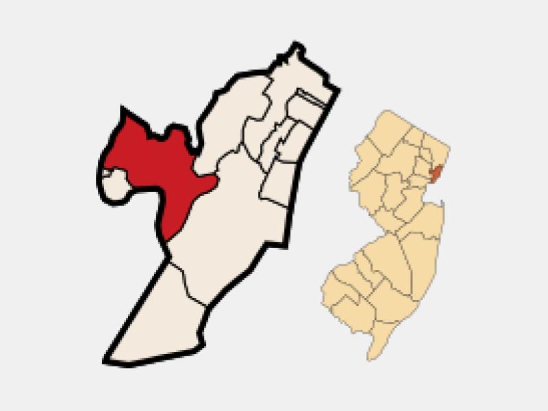 Kearny locator map