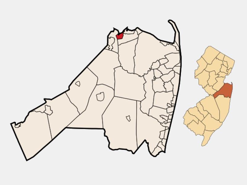 Keyport locator map