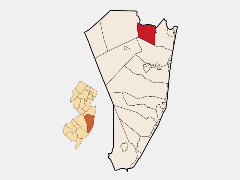 Lakewood locator map