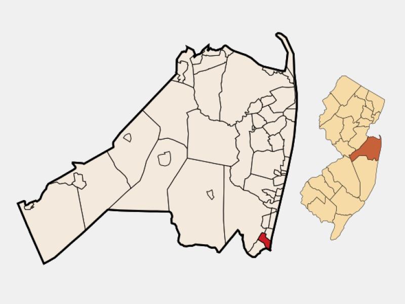 Manasquan location map