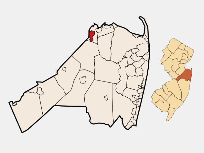 Matawan locator map