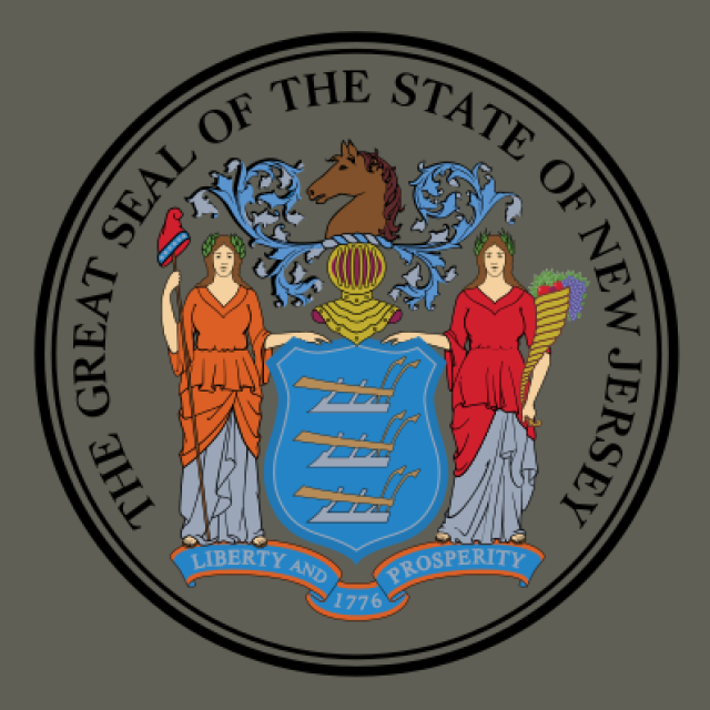 Seal of New Jersey seal image