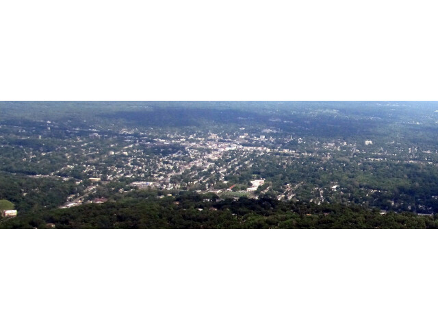 Plainfield  New Jersey aerial view image