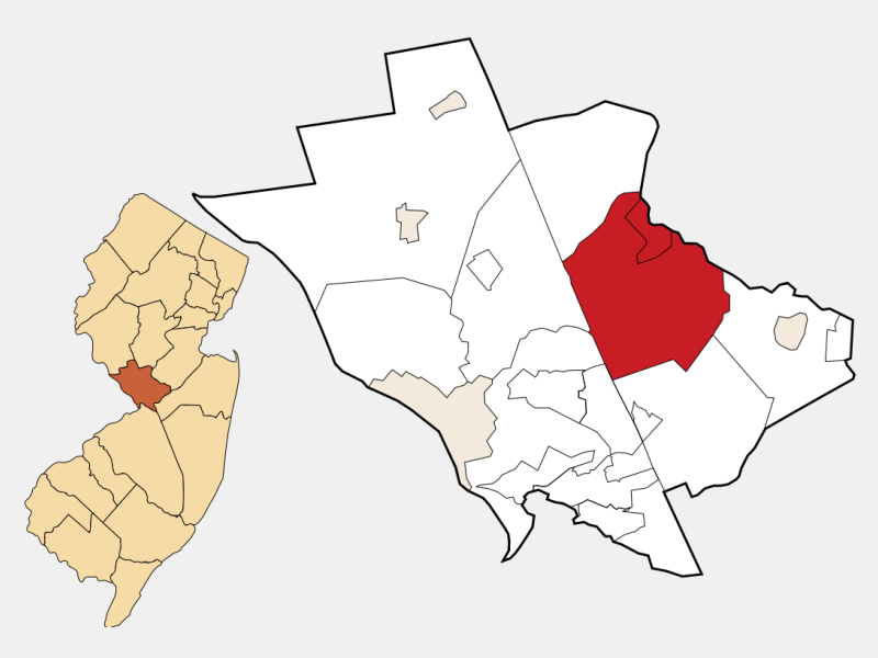 West Windsor location map