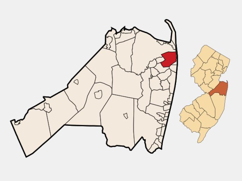 Rumson locator map
