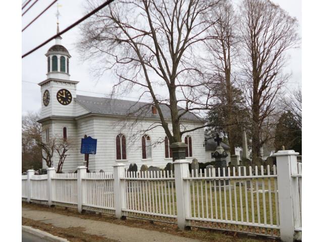 Episcopalian church in Shrewsbury New Jersey on Route 35 image