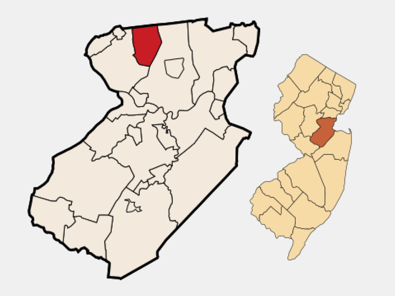 South Plainfield location map
