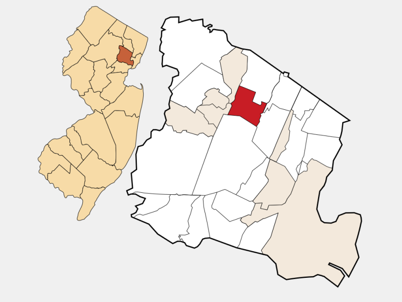Verona locator map