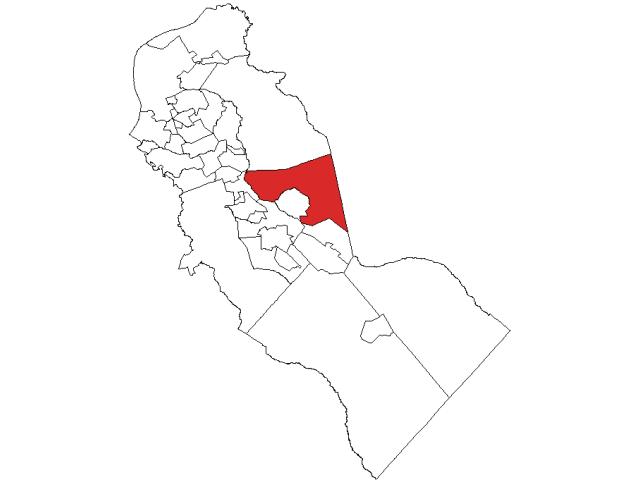 Voorhees locator map