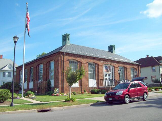 U.S. Post Office Akron NY Aug 10 image