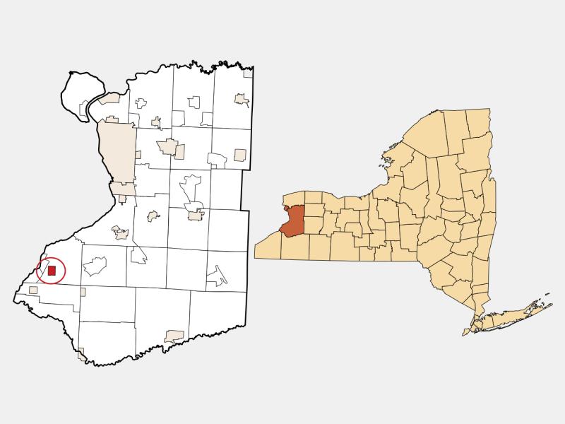 Angola locator map