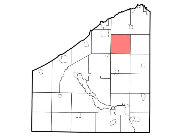 Arkwright locator map