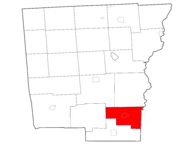 Bainbridge locator map