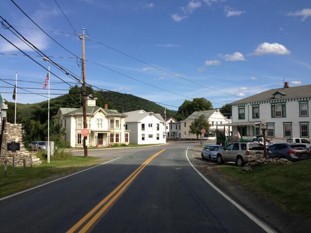 2013-08-25 15 53 51 View east along Rensselaer County Route 40 'Plank Road' just west of Rensselaer County Route 36 'Main Street' in Berlin  Rensselaer County  New York image
