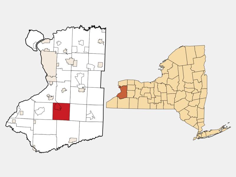 Boston locator map