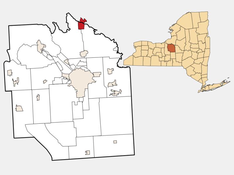 Brewerton locator map
