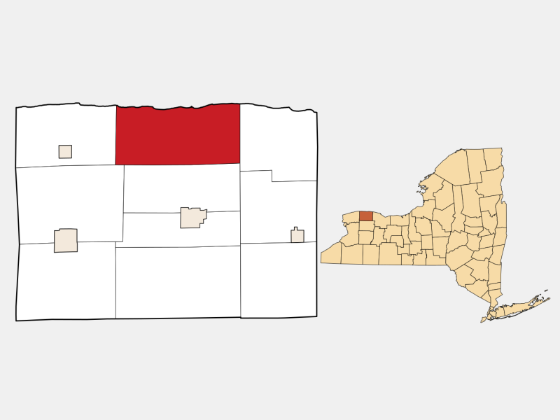 Carlton locator map
