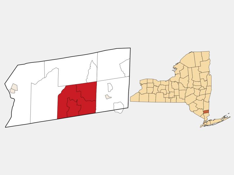 Carmel, NY locator map