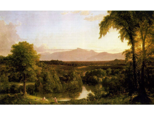 Cole Thomas View on the Catskill Early Autumn 1837 image