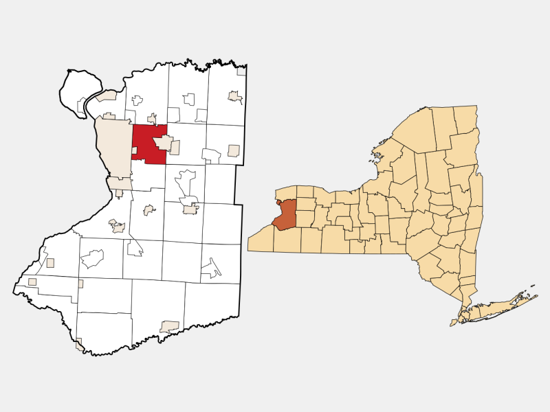 Cheektowaga, NY locator map