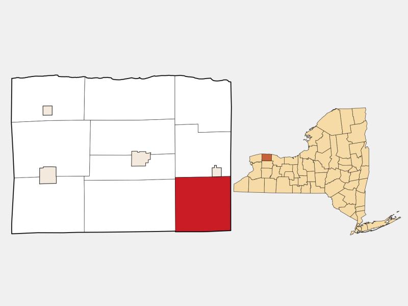 Clarendon locator map
