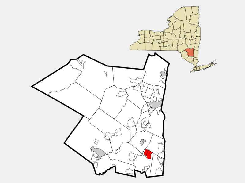 Clintondale location map