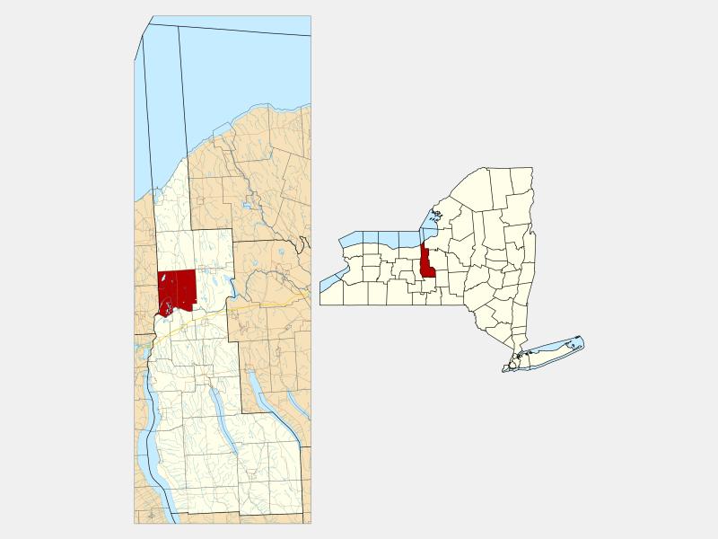 Conquest locator map