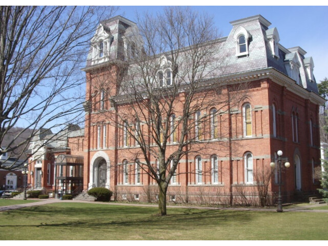 Delaware County Courthouse and Clerk%27s Office Apr 09 image