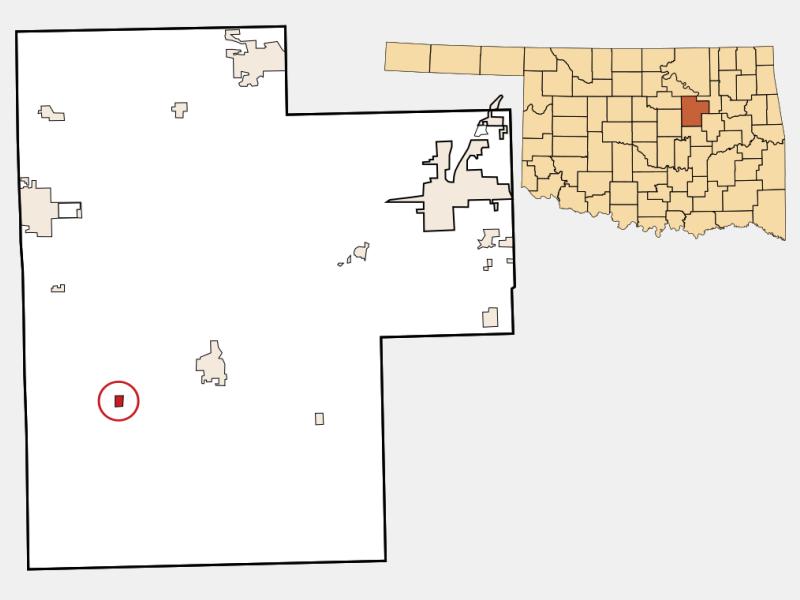 Depew locator map