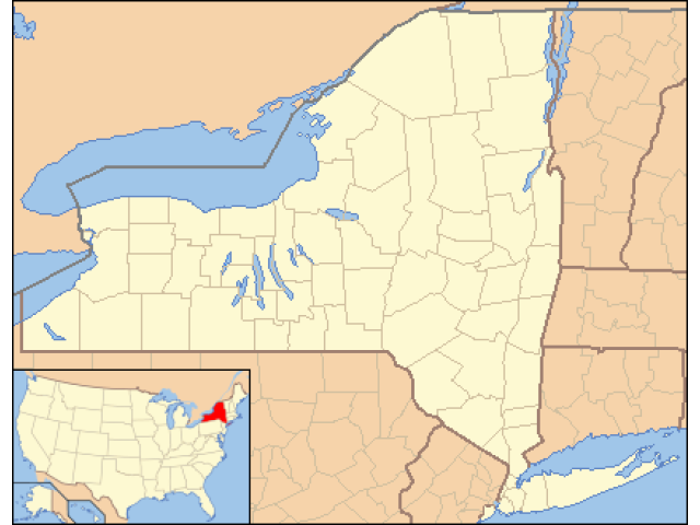 Dobbs Ferry location map