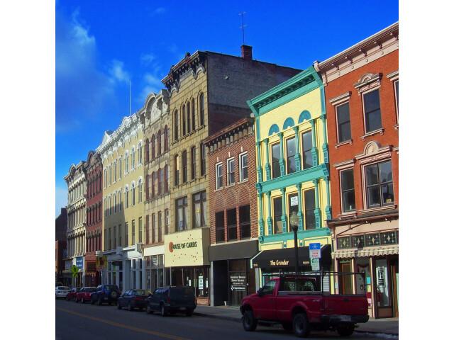 Main Mall Row  Poughkeepsie  NY image