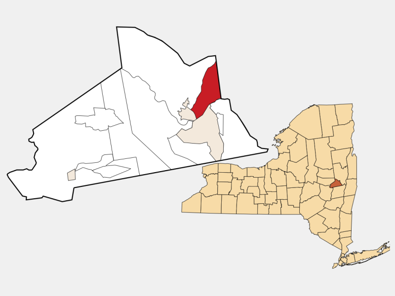 East Glenville location map