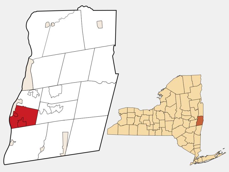 East Greenbush, NY locator map