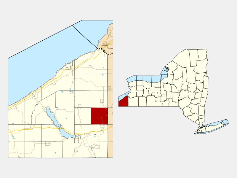 Ellington locator map