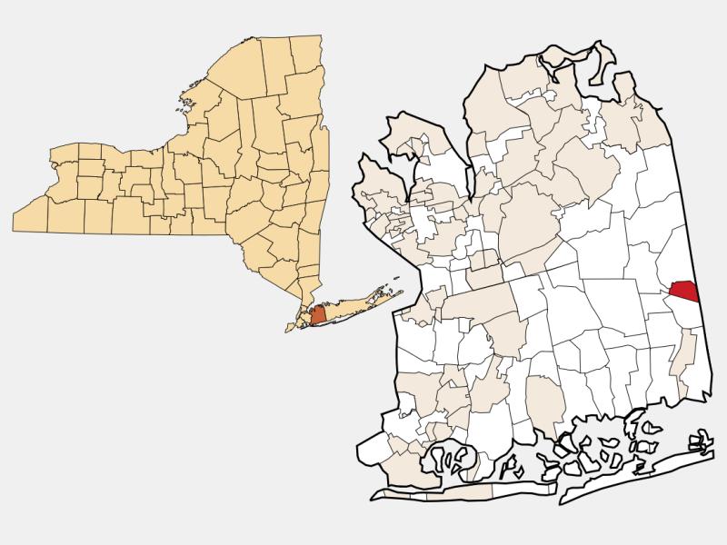 Farmingdale locator map