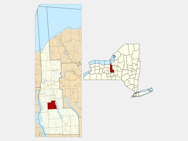 Fleming locator map