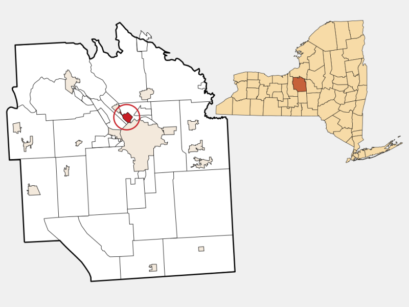 Galeville location map