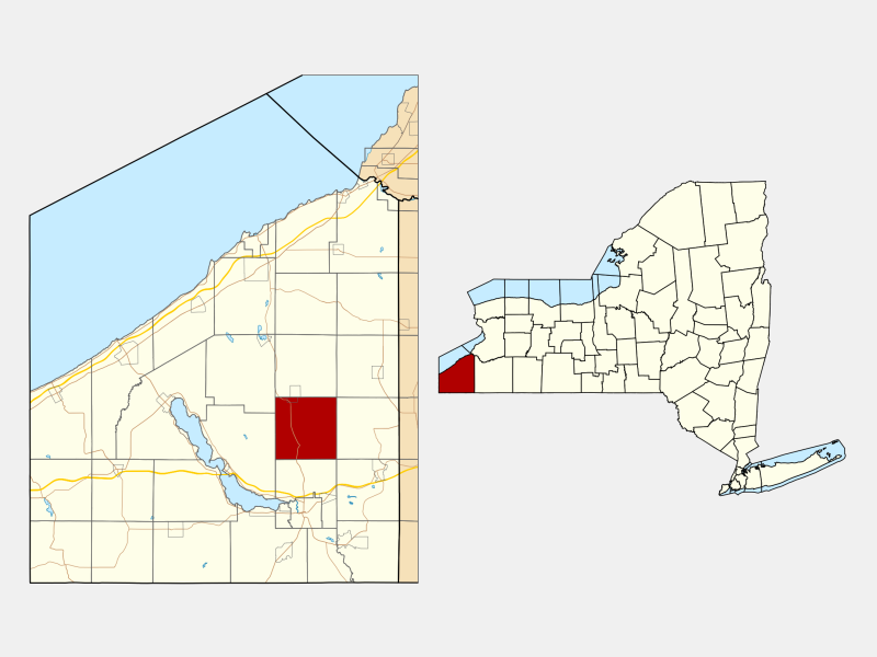 Gerry locator map