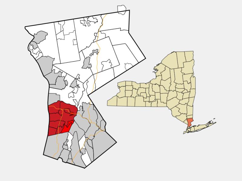 Greenburgh locator map