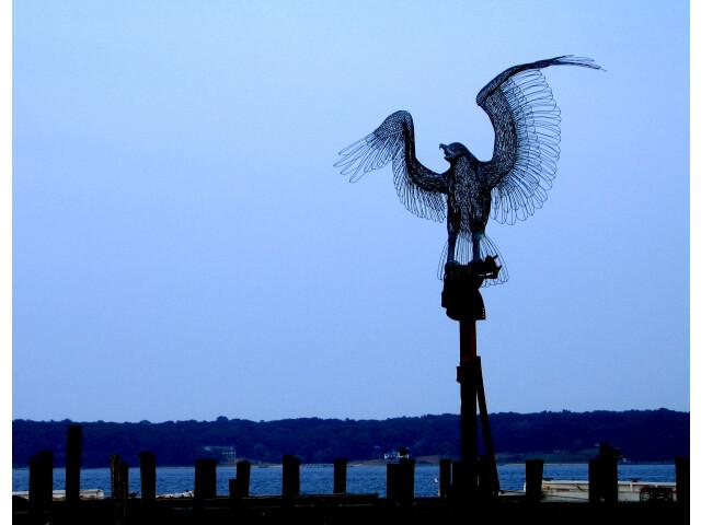 2005-08-08 - United States - New York - Long Island - North Fork - Southold - Greenport - Pier - Bir 4887640161 image