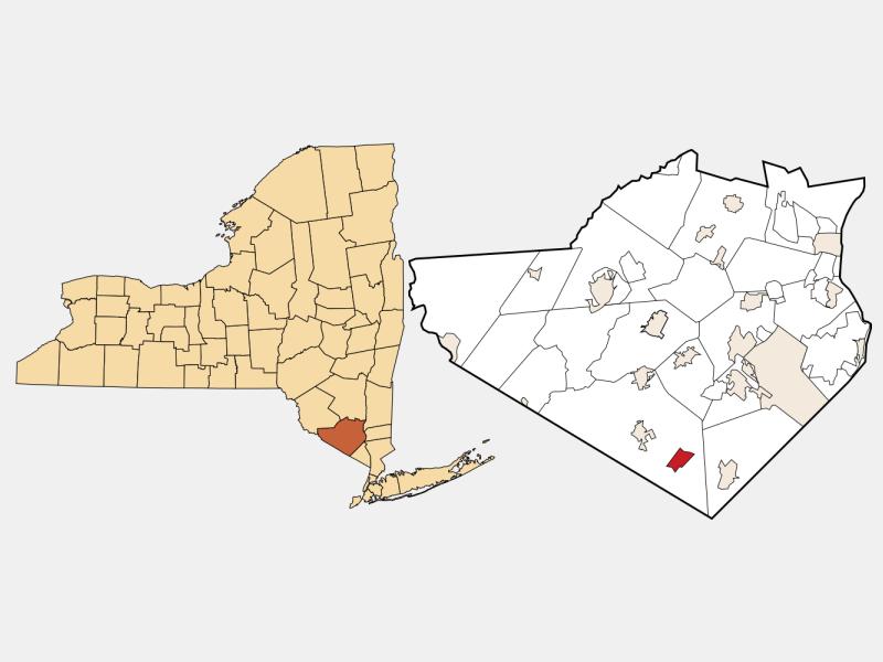 Greenwood Lake locator map