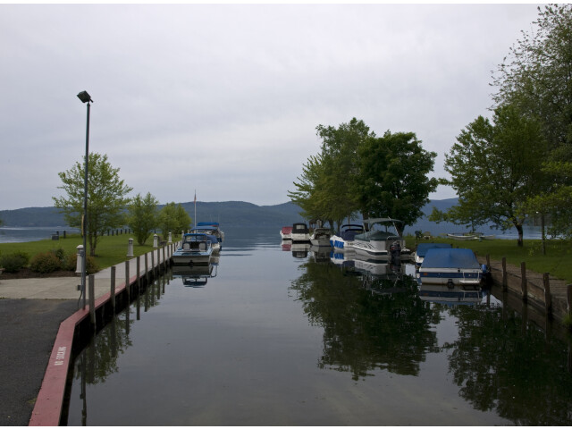 Lake George in Hague image