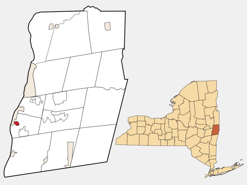 Hampton Manor locator map