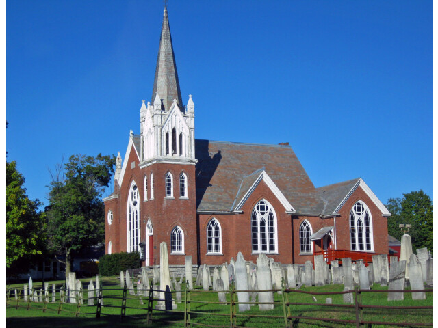 Hartford Baptist Church and Cemetery image