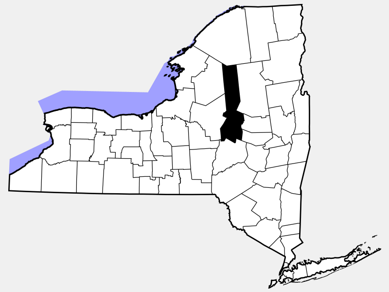 Herkimer County location map