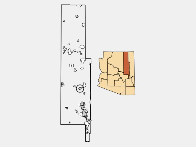 Holbrook locator map