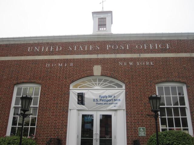 Homer  NY  Post Office IMG 1502 image