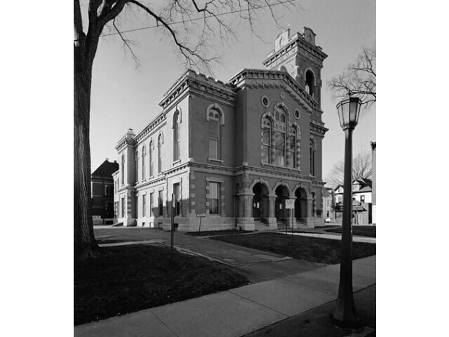 Old Jefferson County Courthouse  Arsenal %26 Sherman Streets  Watertown 'Jefferson County  New York' image