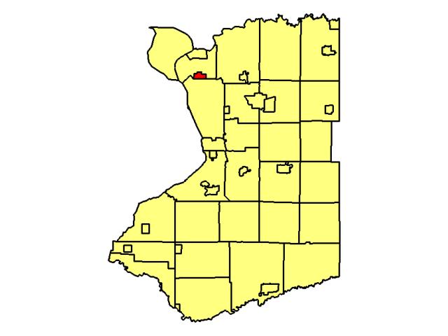 Kenmore locator map